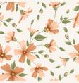 crimson maroon gypsophila floral seamless pattern vector image vector image
