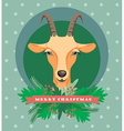 goat symbol of 2015 vector image vector image