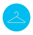 Hanger line icon vector image