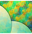 light geometric colorful abstract background vector image vector image