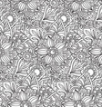 Seamless pattern with florall ornament vector image vector image