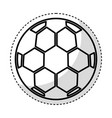 soccer ballloon isolated icon vector image