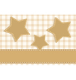 stars vintage scrapbook vector image vector image