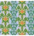 Vintage seamless pattern art nouveau ornament vector image