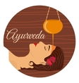 Ayurveda ayurvedic treatment vector image