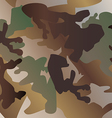 Camouflage pattern background clothing print vector image vector image