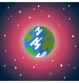 flat icon of Earth vector image vector image