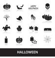 halloween icons set eps10 vector image vector image