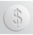 Icon dollar vector image vector image