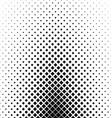 Monochrome square pattern background design vector image vector image