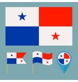 Panamacountry flag vector image vector image