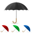 realistic umbrella vector image