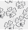 texture with clover leaf for St Patricks Day vector image