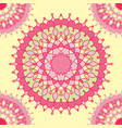 vintage background pastel shades with ornament vector image