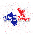 bastille day 14th of july vector image vector image