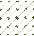 Green retro pattern vector image vector image