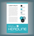 ollection set cover business brochure vector image vector image