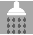 Shower Flat Symbol vector image vector image