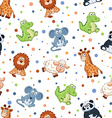 toys pattern vector image