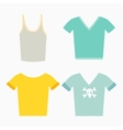 Clothing design concept vector image