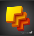 abstract web design concept vector image vector image