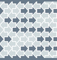 arrows seamless geometric pattern vector image