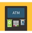 ATM terminal banking vector image vector image