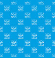 broken glass pattern seamless blue vector image vector image