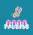 business process concept vector image