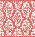 damask seamless pattern backfround elegant luxury vector image