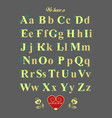 encrypted message - we have a good chemistry vector image vector image