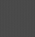Grey seamless pattern geometric shape background vector image vector image