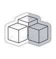 Isolated sugar square design vector image vector image