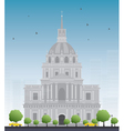 Les Invalides hospital vector image vector image