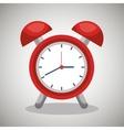 alarm clock design vector image vector image