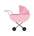 baby pram symbol vector image vector image
