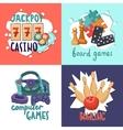 Game design concept vector image