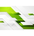 Green tech corporate motion background vector image vector image