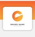 initial c logo design inspiration vector image