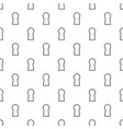 keyhole pattern seamless vector image