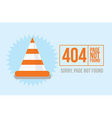 Page not found Error 404 design for website or