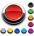 Round 3d buttons vector image vector image