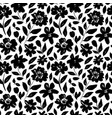 seamless floral pattern with peonies roses vector image vector image