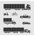 Symbol Car Set vector image vector image