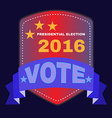 USA Presidential Election 2016 Banner vector image