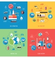 Natural Gas Industry Concept vector image
