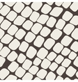 Seamless brown pattern with paving stone vector image