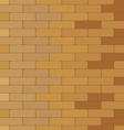 Brick wall Colorful brick texture background vector image vector image