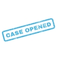Case Opened Rubber Stamp vector image vector image