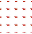 chicken leg icon pattern seamless white background vector image vector image